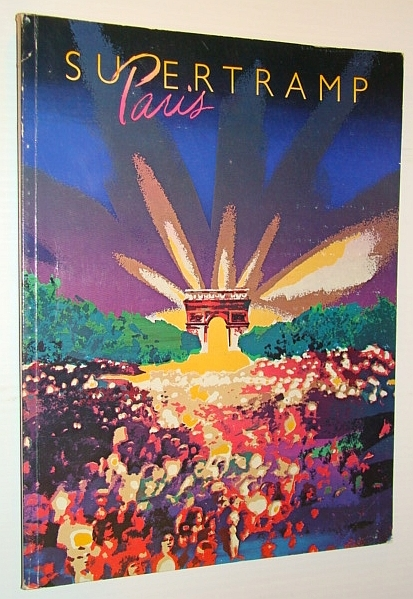 Supertramp Paris - Songbook (Song Book) with Sheet Music for Piano and  Voice with Guitar Chords